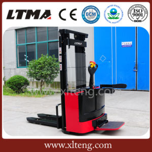2016 Hot Selling Low Cost 2 Ton Hydraulic/Manual Electric Stacker pictures & photos