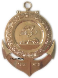 Customized Medal with High Polished