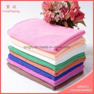 Star Hotel White Color Towel Microfiber Bath Towel pictures & photos