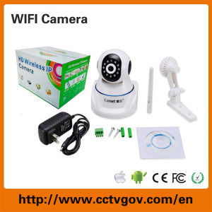 PTZ Wireless IP Infrared Camera with 720p Resolution pictures & photos