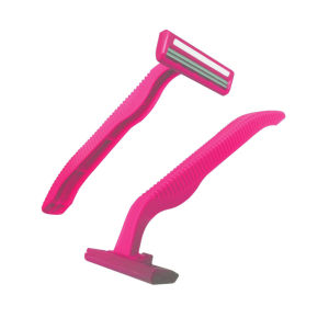Economic Disposable Twin Blade Razor with Lubricant Strip (SL-3013L) pictures & photos