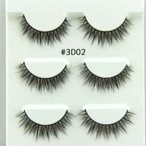 3D Stereoscopic False Eyelashes Artificial fibers Hair #3D01 to #3D15 pictures & photos
