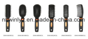 Black with Golden Hair Brush pictures & photos