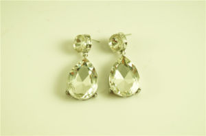 Fancy Clear Stone Statement Earring pictures & photos