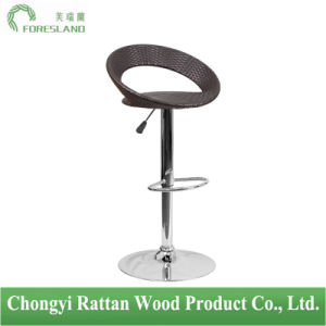PE Rattan Bar Chair Counter Stool PS-08 pictures & photos