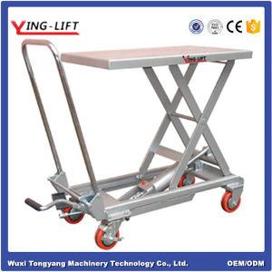 Aluminum Hydraulic Scissor Lift Table pictures & photos