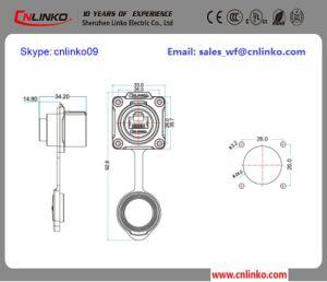 8p8c Network Connector/IP67 Connector RJ45/Water Resistance Ethernet RJ45 pictures & photos