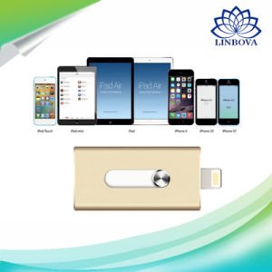 3 in 1 USB3.0 Pendrive for iPhone iPad Mac PC pictures & photos