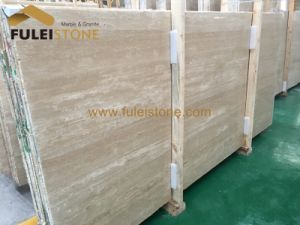 Turkish Cream Travertine Beige Travertine Slabs