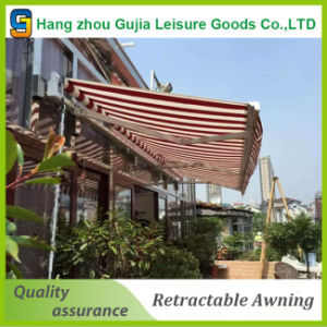 Duable Motorized Retractable Awnings Convenient Patio Ratractable Awning pictures & photos
