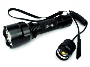 Ultra C8 T6 CREE LED 1300 Lm Flashlight with Pressure Switch pictures & photos