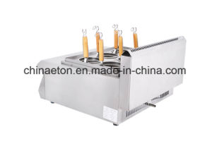 Ce Countertop Commercial Stainless Steel Gas Pasta Cooker (ET-TSRQZML) pictures & photos