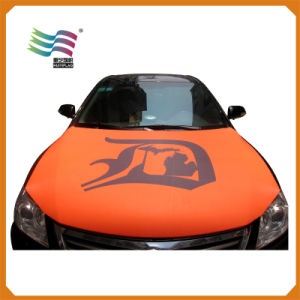 ISO Certificated Custom National Car Flag for Engine Hood Cover (HYCH-AF023) pictures & photos