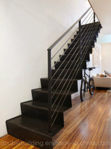 Carbon Steel Stairs in Black Power Coated pictures & photos