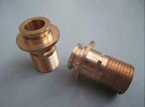 Knurled Brass CNC Turned Parts pictures & photos