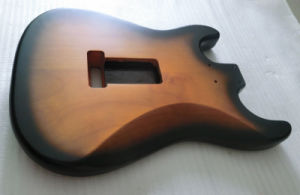 Nitro Finished Sunburst Ssh Strat Guitar Body pictures & photos