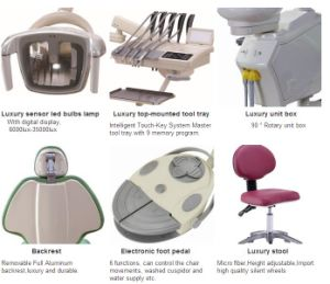 Factory on Sale High Quality Dental Chair Ads-A3 pictures & photos