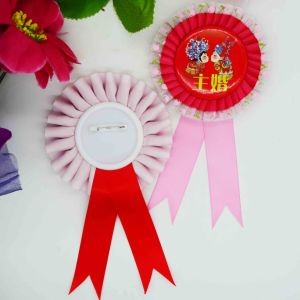 All Size Difference Color Special Order Ribbon Brooch pictures & photos