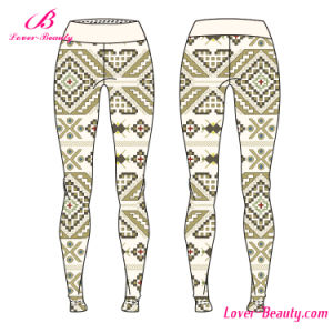 Irresistible Basic Geometric Pattern Sportwear Yoga Leggings