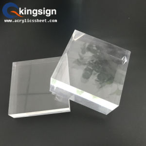 Manufacturer High Quality Cast Clear Acrylic Sheet pictures & photos