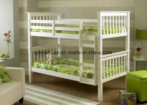 Solid Wood Crib Children Bed Bunk Bed Special White Environmental Protection Can Be Customized (M-X3736) pictures & photos