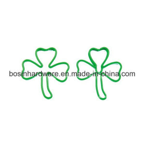 Green Leaf Shape Customized Paper Clip pictures & photos