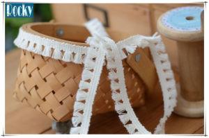 1.5cm DIY Garment Accessories Tassel Ribbon Lace Trim for Dress