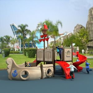 Pirate Ship Style Outdoor Playground pictures & photos