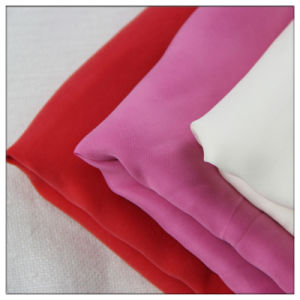 Woven Textile Polyester (Imitation Cupro) Rayon Fabric for Garment