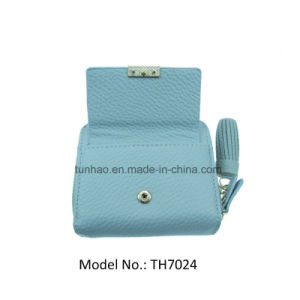Mini Multifunction Zip Around Lady Wallets with Front Snap Pocket pictures & photos