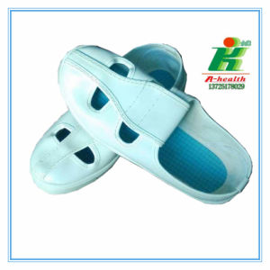ESD Butterfly Work Shoe (4-eyes) for Cleannroom Workshop pictures & photos