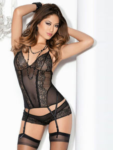 Sexy Lingerie/Sexy Bodysuit (BA0109) pictures & photos