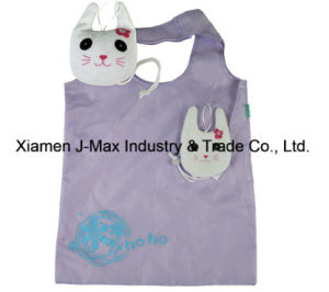 Foldable Shopping Eco-Friendly Bag, Animal Kitty Style, Reusable, Grocery Bags and Handy, Promotion, Lightweight, Accessories & Decoration pictures & photos