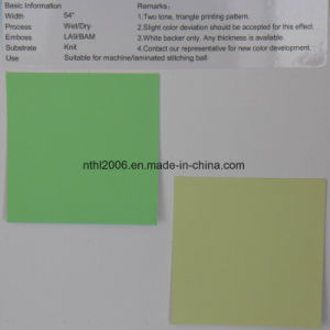 PU Imitation Leather Used in Varies Balls pictures & photos