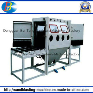Double Work Position Manual Sandblasting Machine (2010A-2) pictures & photos