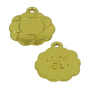 Bowling Ball Shaped Metal Hang Tag Charms pictures & photos