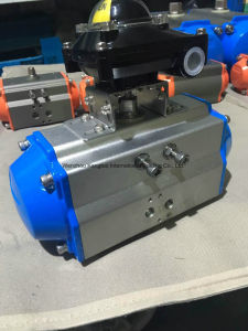 Air to Open Pneumatic Actuator with Apl210 Limit Switch pictures & photos
