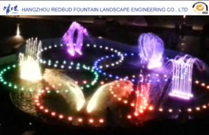 Outdoor Pool Mechanical Music Dancing Fountain pictures & photos