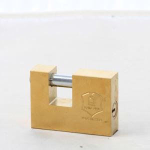 Brass Rectangular Padlock Customize Factory Offer Cheap Price High Quality pictures & photos