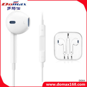 Mobile Phone TPE Eardud Earphone with Microphone pictures & photos