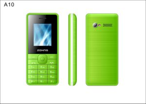 Basic Function Mobile Phone China Cell Phone 1.8 Inch Low Price GSM Dual SIM Feature Phone A10 pictures & photos