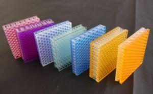 Transparent Decoration PC Honeycomb Sandwich Panel pictures & photos