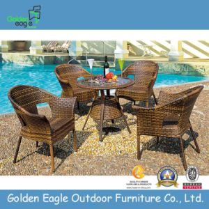 Cheap PE Rattan Garden Coffee Table - Wicker Outdoor Furniture (FP0029)