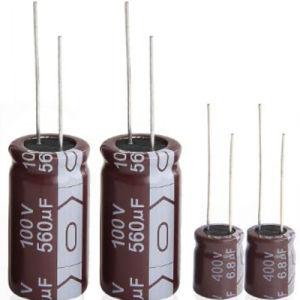 Low ESR High Ripple Current Aluminum Electrolytic Capacitor 105c pictures & photos
