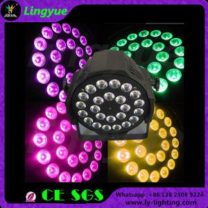 Stage Equipment DMX Disco RGBW 4in1 LED PAR 24X12 pictures & photos
