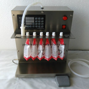 5L / Min Stand up Punch Fruit Juice Soybean Milk Filling Machine