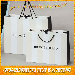 Promotional White Kraft Paper Bag Kraft Shopping pictures & photos