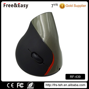 Built-in Rechargeable Battery Ergonomic Vertical Wireless Mouse 5 Button pictures & photos