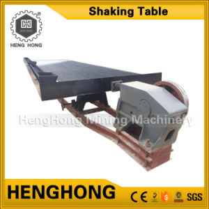 Mobile Alluvial Gold Mining Equipment 6s Shaking Table for Gold pictures & photos