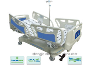 Sjb506ec Luxurious Electric Vertical Travelling Bed with Five Functions